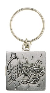 Worship the Lord Keyring
