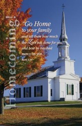 Go Home To Your Family (Mark 5:16-19, NIV) Bulletins, 100