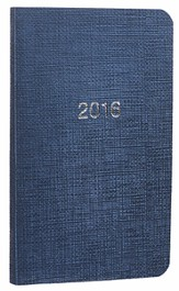 2016 Pocket Planner, Navy