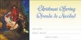 Jesus, Lord, At Thy Birth, Offering Envelopes (Spanish/English) 100
