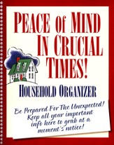 Peace of Mind Organizer