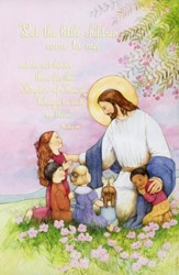 Let The Little Children Come To Me (Matthew 19:14, NIV) Bulletins, 100