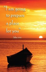 Prepare A Place For You (John 14:2) Bulletins, 100