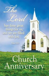 The Lord Has Done Great Things (Psalm 126:3, NIV) Bulletins, 100