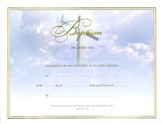 Baptism Certificates (Ephesians 4:5-6) Pack of 6