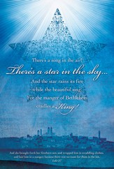 There's A Star In the Sky (Luke 2:7) Bulletins, 100