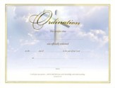 Pastors/Ordination Certificates (Jeremiah 3:15), pack of 6