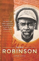 He Which Hath Begun A Good Work, Jackie Robinson, (Philippians 1:6) Bulletins, 100