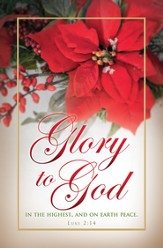 Glory To God (Luke 2:14) Bulletins, 100