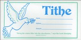 Tithe, Dove (Malachi 3:10, NIV) Offering Envelopes, 100
