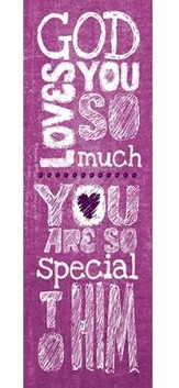 God Loves You (Matthew 19:14, ESV) Bookmarks, 25