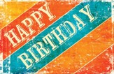 Rustic Greetings (Psalm 129:8) Birthday Postcards, 25