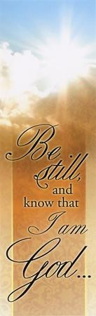 Be Still and Know (Psalm 46:10) Bookmarks, 25