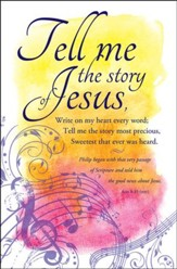 Tell Me the Story (Acts 8:35, NIV) Bulletins, 100