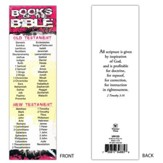 Books of the Bible (2 Timothy 3:16) Bookmarks, 25