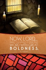 Now Lord, Enable Your Servants (Acts 4:29, NIV) Bulletins, 100
