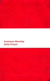Common Worship: Daily Prayer soft touch leather