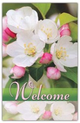 Welcome (Flowers), Welcome Pew Cards Package of 25