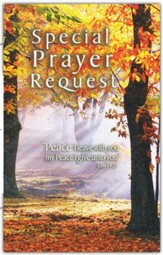 Special Prayer Request (Fall) Pew Cards Package of 25
