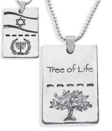 Tree of Life Dog Tag