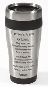 Traveler's Prayer Travel Mug 14oz