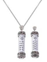Ten Commandments Necklace