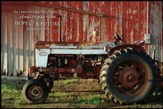 For I Know the Plans, Tractor Framed Art