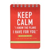 Keep Calm Wirebound Notepad