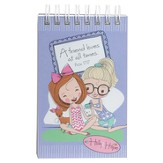 A Friend Loves At All Times Notepad