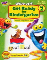 Get Ready for Kindergarten Wipe-Off Book 2