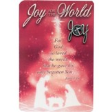 Joy for the World Lapel Pin with Pocket Card