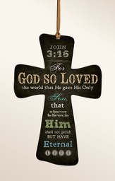 For God So Loved the World Cross