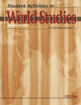 BJU Heritage Studies Grade 7: World Studies, Student Activities