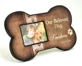 Personalized, Dog Bone Photo Frame, Our Beloved Dog