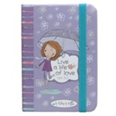 Life A Life Of Love Notebook with Elastic Band