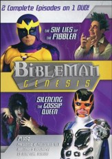 Bibleman Genesis: The Six Lies of the Fibbler /  Silencing the Gossip Queen, DVD
