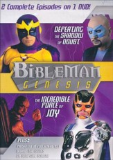 Bibleman Genesis: Defeating the Shadow of Doubt /  The Incredible Force of Joy, DVD