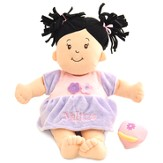 Personalized, Baby Stella, Brunette Doll