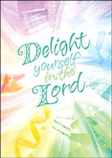 Delight Yourself in the Lord Cards, Box of 15