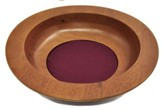 Walnut Finish Maple Wood Offering Plate