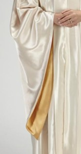 Choir Robe, Ivory / Gold (Large Short)