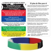The Gospel Story by Colors Silicone Bracelet with Card, Spanish