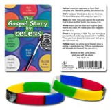 The Gospel Story by Colors Silicone Bracelet with Debossed Words