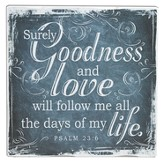 Goodness and Love, Canvas Wall Art