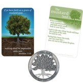 Mustard Seed Pocket Piece and Card