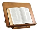 Adjustable Wood Bible Stand, John 1,1