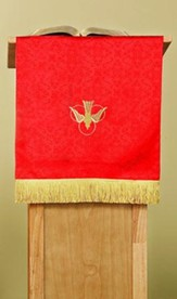 Pulpit Scarf / Dove / Chi Rho R / White