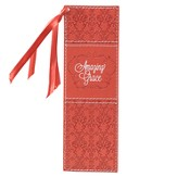 Amazing Grace Bookmark, Coral