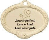 Love is Patient Plant Pick