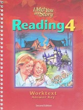 BJU Reading 4, Worktext Teacher's Edition